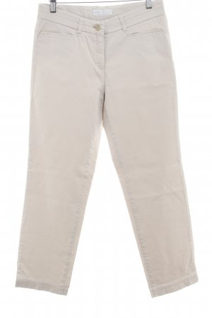 Brax Peg Top Trousers oatmeal casual look