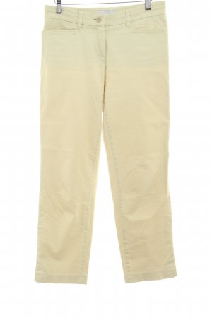 Brax Pantalone peg-top giallo lime stile casual
