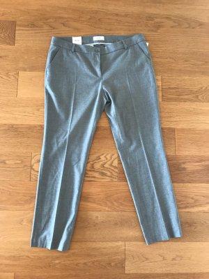 Brax Pantalone di velluto a coste grigio chiaro