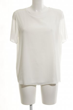 Brax Kurzarm-Bluse weiß Elegant
