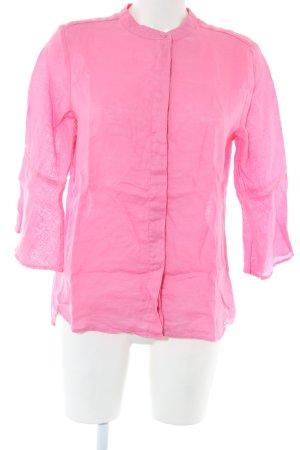 Brax Langarm-Bluse pink Business-Look