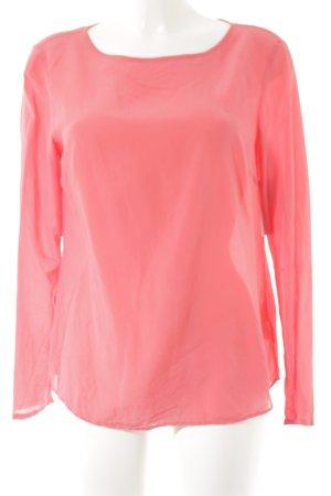 Brax Langarm-Bluse magenta minimalistischer Stil