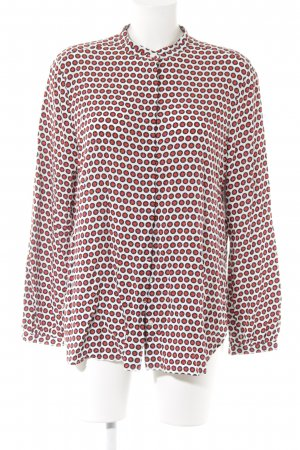 Brax Langarm-Bluse Sternenmuster Casual-Look
