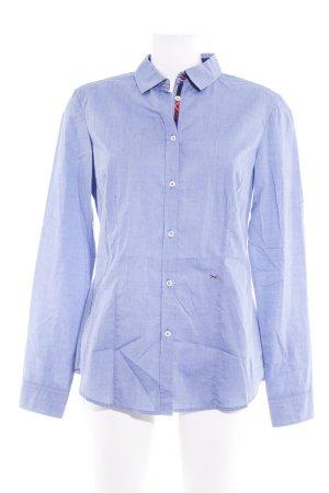 Brax Langarmhemd kornblumenblau-rot Casual-Look