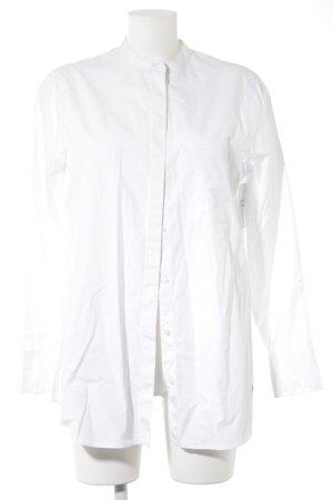 Brax Langarmhemd weiß schlichter Stil