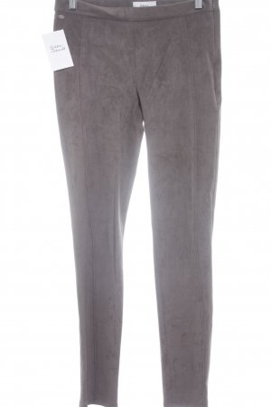 "Brax Leather Trousers ""Feel Good"" grey brown"