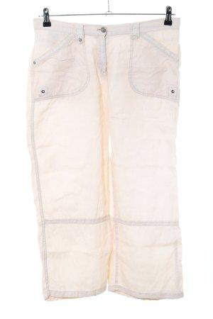 Brax Linen Pants cream casual look