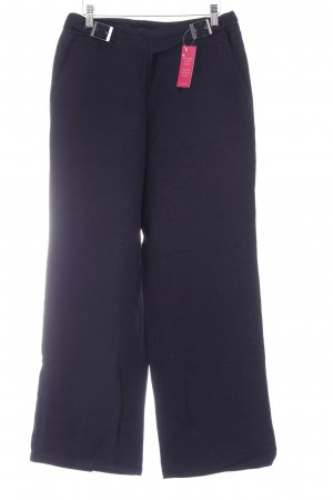 Brax Linen Pants dark blue casual look