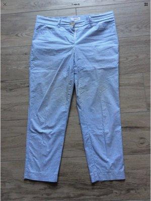 Brax - Mara Sun - Gr 38K  blau/ weiß Kariert