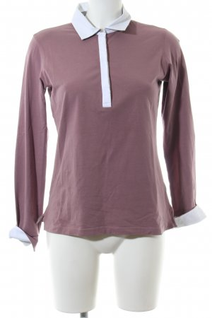 Brax Polo-Shirt lila Casual-Look