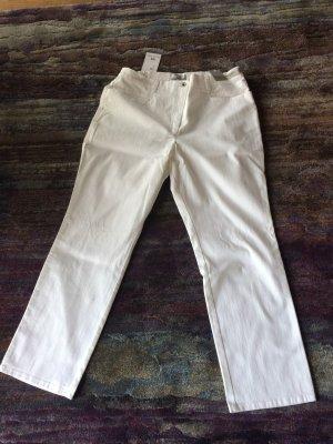 Brax Pantalone elasticizzato bianco