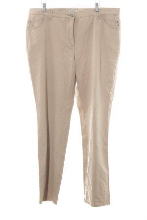 Brax Röhrenhose beige Casual-Look