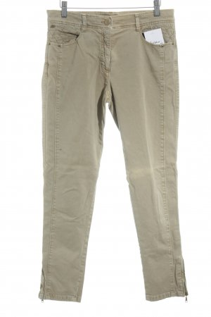 Brax Pantalon cigarette beige clair style simple