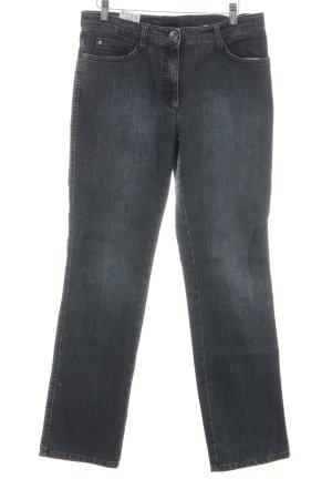Brax Röhrenjeans graublau-silberfarben meliert Casual-Look