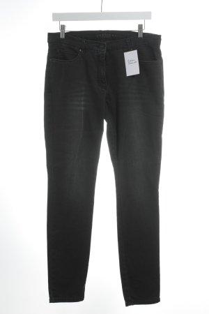 Brax Skinny Jeans anthrazit-schwarz Casual-Look