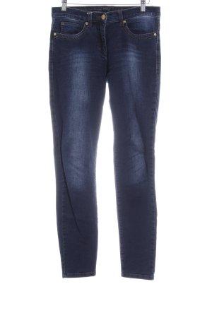 Brax Skinny Jeans dunkelblau-kornblumenblau Casual-Look