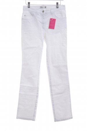 Brax Skinny Jeans weiß schlichter Stil