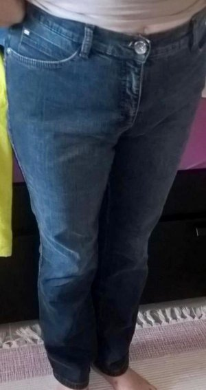Brax Slim Fit Damen Jeans Hose Blau Denim Gr. 38