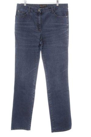 Brax Slim Jeans blau meliert Casual-Look