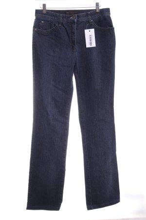 Brax Slim Jeans dunkelblau-graublau Casual-Look