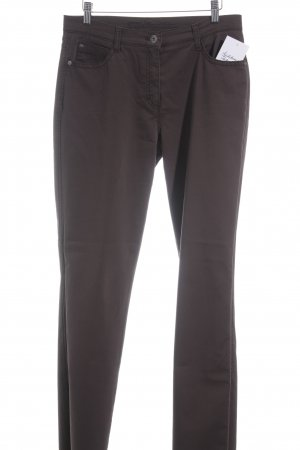 Brax Slim Jeans dark brown casual look