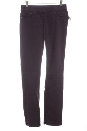 Brax Slim Jeans dunkelviolett Casual-Look