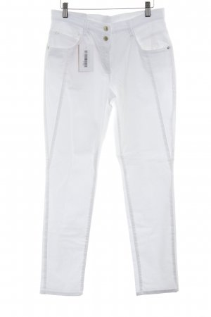 Brax Slim Jeans wollweiß Casual-Look