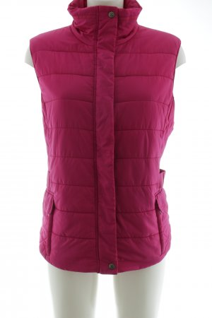 Brax Steppweste pink Steppmuster Casual-Look