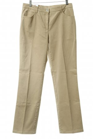 Brax Stoffhose beige-silberfarben Casual-Look