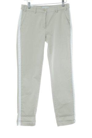 Brax Stoffhose beige-weiß Casual-Look