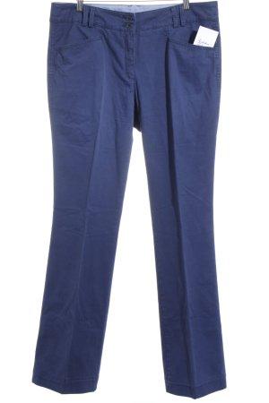 Brax Stoffhose blau Street-Fashion-Look