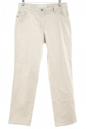 Brax Stoffhose creme Casual-Look