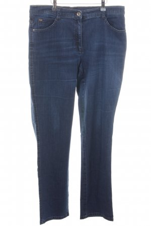 Brax Straight-Leg Jeans blau Casual-Look