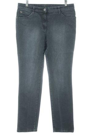 Brax Straight-Leg Jeans anthrazit schlichter Stil