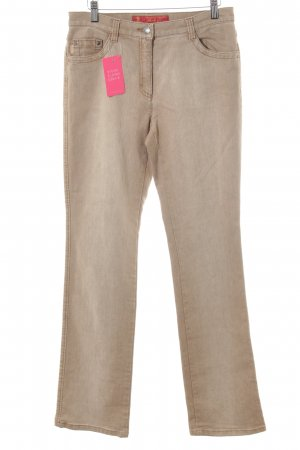 Brax Straight-Leg Jeans beige Casual-Look
