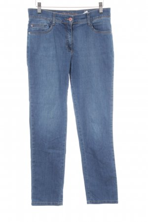 Brax Straight-Leg Jeans blau Casual-Look