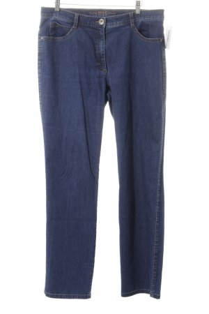 Brax Straight-Leg Jeans blau Street-Fashion-Look