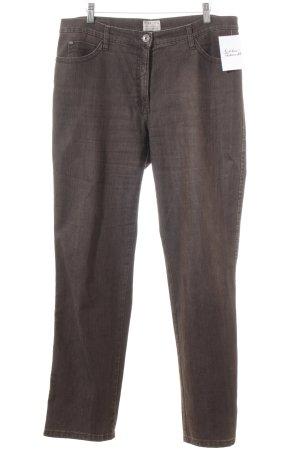 Brax Straight-Leg Jeans braun Casual-Look