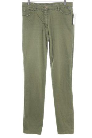 Brax Straight-Leg Jeans grasgrün Casual-Look