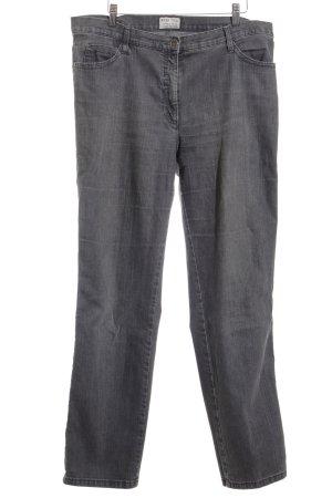 Brax Straight-Leg Jeans grau meliert Casual-Look