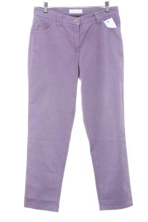 Brax Straight-Leg Jeans grauviolett Casual-Look