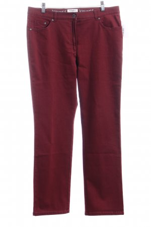 Brax Straight-Leg Jeans purpur Casual-Look