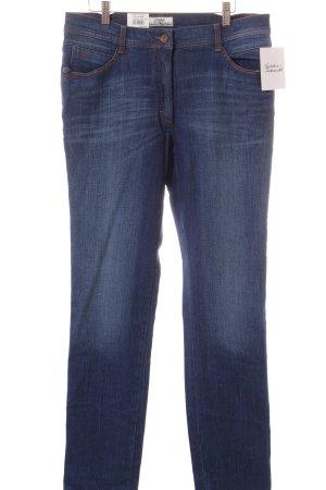 "Brax Straight-Leg Jeans ""Sara Blue"" dunkelblau"