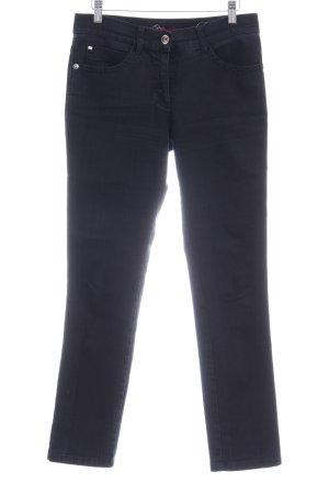 Brax Straight-Leg Jeans schwarz Jeans-Optik