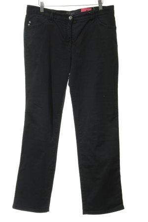 Brax Straight-Leg Jeans schwarz schlichter Stil