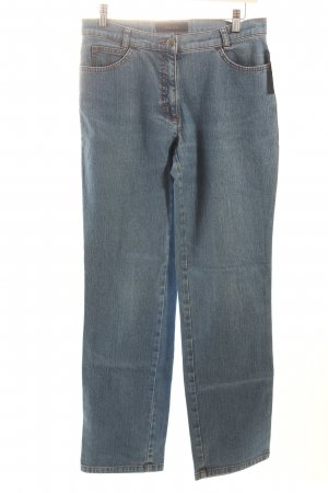 Brax Straight-Leg Jeans stahlblau Casual-Look