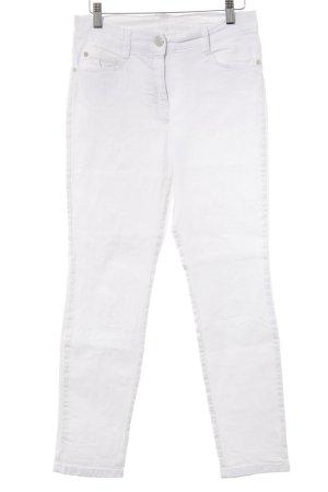 Brax Straight-Leg Jeans weiß Casual-Look