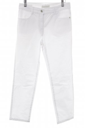 Brax Straight Leg Jeans white-silver-colored casual look