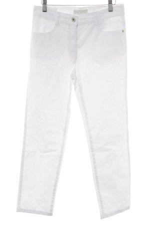 Brax Straight-Leg Jeans weiß-silberfarben Casual-Look