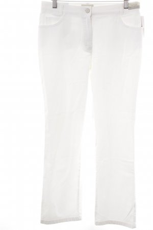 Brax Straight-Leg Jeans wollweiß Casual-Look